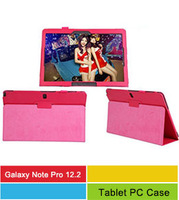 """Cheap  Hot  Pu Leather Stand Smart Sase Tablet Cover For Samsung Galaxy Note Pro 12.2"""" P900 P901 P905"""