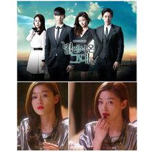 High Quality Jewelry Korean TV My Love From the Star Jun Ji Hyun Big Star Statement