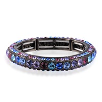 Multicolore Bracelet Bangle Made With Exclusive Crystal Element Gift Box Women Wedding Bridal  Fashion Jewelry