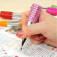 2014 Hot Free shipping(100pcs/lot) wholesale Fashion 9.8cm Lipstick jewelry pen novelty pen
