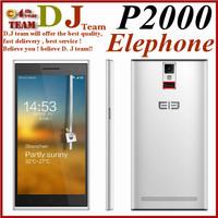 "Pre-sell Elephone P2000 MTK6592 Octa Core 5.5"" 1280x720 2GB RAM 16GB ROM 13MP WCDMA Mobile Phone Fingerprint identify NFC GPS"