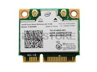 Dual Band Wireless-AC 3160 3160HMW half Mini PCI-e Bluetooth BT Wireless Wifi card