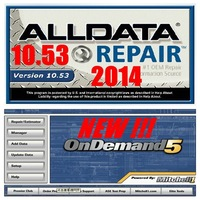 2014 Last Version ALLDATA 10.53 + Mitchell on demand 750GB HDD fast shipping
