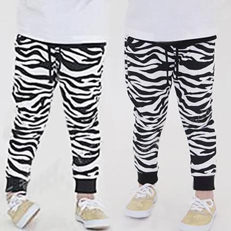 retail 1 pcs new 2014 spring autumn zebra print children Pants girls clothing baby trousers kids casual pant harem CC1243(China (Mainland))