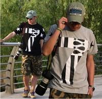 Free Shipping 2014 DGK  hip-hop star HIPA men short sleeved T-shirt,black grey cool man clothing,M-5XL streetwear Christmas Gift