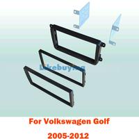 2 Din Car Fascia Panel / Car Frame kit / Audio Panel Frame / Car Dash Kit For Volkswagen Golf 2005-2012 Retail/Pcs Free Shipping