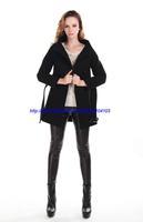 New Arrivel Winter Long Woolen Overcoat Women Fashion Female Outerwear Cashmere Coat Free Belt 4 colours Spring Hot Selling