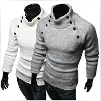 In the fall of 2014 new Korean spread collar design men sweater