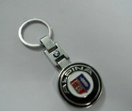 BM* Car key chain High quality Unique design Zinc Alloy Cadillac logo Keychain, Metal Alpina Key ring FOR X1, X3, X5 X6(China (Mainland))