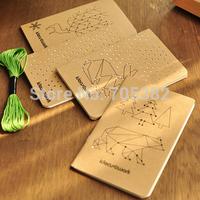Vintage kawaii animal printed diary book ,Paper notebooks,Notepad, Journal diary, kawaii stationery,Free shipping(tt-381)