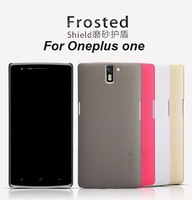 Oneplus one case, original Nillkin Super Frosted series back cover case for One plus one 1+ with screen protector+retail pacakge