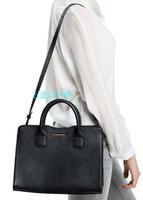 Mango t0uch bag spring new arrival women's handbag 2014 , square zipper one shoulder handbag ! cattle