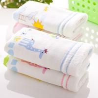 Free shipping women men towel 10 pieces 70*34cm 10 De-Forest double layer gauze 100% cotton soft infant absorbent towel