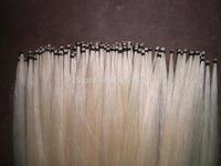 40 Hanks Violin bow hair(20 black & 20 white bow hair), 32 inches 6 grams each hank