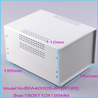 (1  )150x110x195 mm industrial case electronics enclosure diy iron box for electronics box enclosures electronic metal box