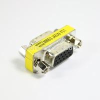 Free shipping SVGA VGA DB15 15 Pin Female Gender Changer adapter#9839