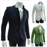 In the fall of 2014 new Korean color Multi Pocket design business casual suit