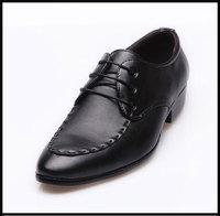 Size 38-44 New Arrival Men Black Oxfords Shoes men's dress shoes free shipping JAC85