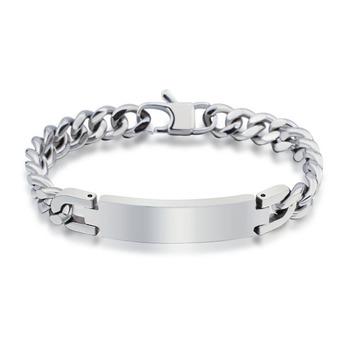 Нержавеющая сталь ID браслеты и браслеты себе ювелирные изделия