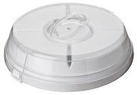 Multi function Plastic dishes, plastic cake box, multifunction bakeware, PP Traveler plate 6pcs/set