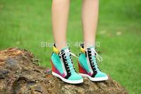 Top grade girl latest fashion women shoes inside heel