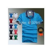2014 New summer crocodile T-Shirts Men casual shirt Fashion T-Shirts Short-sleeved T-Shirts men 10 color #88078