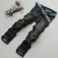 2014 New Fashion Men's Designer Jeans Famous Brand, Black Jeans Men pants & Trousers Plus Size 28- 42  A018