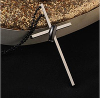 New Style Stainless Steel Cross Necklace Bible Cross Pendant Man Necklace