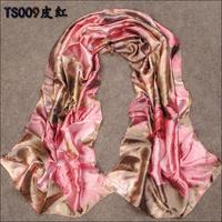 160cm*50cm New Fashioon Women  Winter Brand Designer Imitated silk Scarf Female Print Flower Novelty Scarf  Casual Long Shawl