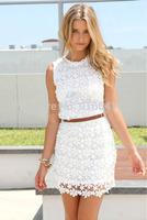 New 2014 Women  High Street Full Lace Party  Novelty Dress Dresses