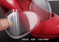 Via Fedex/TNT, Forefoot Shoes Adhesive Cushions Non Slip Sticker Shoe Grip pads Slip Stick Anti-Slip Shoe Insoles Mats, 500Pairs