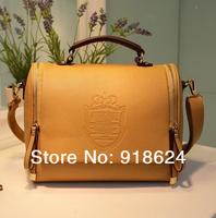 New Arrival Fashion Lady Crown Pu Quality Handbags Faux Leather Messanger Shoulder Bag 6 Candy Colors Zipper Belt Designer HOT