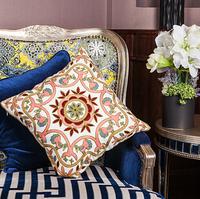 Bohemian style, three-dimensional lumbar cushion office sofa bed backrest pad / dx646