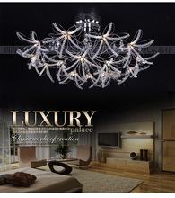 hanfrol lightingFashion crystal pendant light simple european pendant light bedroom living room lights dining room pendant light(China (Mainland))