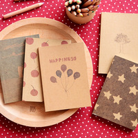 Free shipping crayon painting notebook /pocket notepad/the notebook/korean stationery/Cute Drawing Book/creativ
