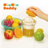 2014 convenient fruit juicer baby manually with filter