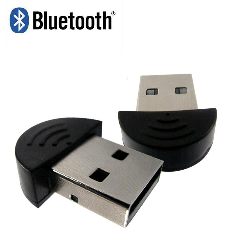 100pcs/lot Mini Bluetooth USB 2.0 Dongle Adapter Smallest Bluetooth Adapter V2.0 EDR USB Dongle 20M Notebook PC Laptop Mobile(China (Mainland))