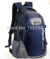 2014 Korean color block lover men and women Casual Travel computer backpack bag Students school bag 50*30*15cm