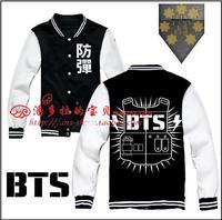 BTS bulletproof Cadet Bangtan Boys / ARMY hoodie / BTS logo baseball uniform A section