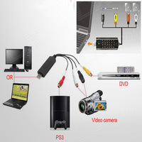 Free Shipping YuanBoTong High Quality USB 2.0 Video Adapter with Audio All Store Discount