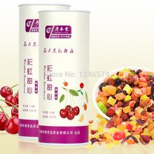 Free Shipping flower nectar fruit tea Rainbow Sweetheart cherry flavor 118g New Arrivals
