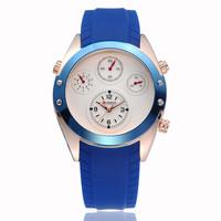 3ATM Water Resistant!! CURREN Men's Military Watches,Men Quartz Auto Date,Men's Silicone Strap Sports Watches