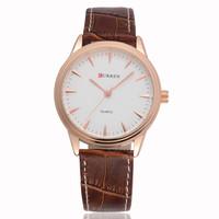 CURREN Japan Movement Quartz Clocks Business Men's Watches,Men's Leather Strap Wristwatches