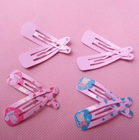 peppa pig Peppa Pig hairpins, Pepe pig hair , cartoon side folder