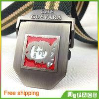 Che.Guevara men casual canvas belt  canvas belt  men's outdoor thick tactical belt alloy buckle free shipping