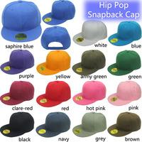 Brand New Fashion Promotional Men Women CUSTOM logo Blank  Hip Pop Cap SnapBack Trucker Cap Flat bill cap  Free Shipping