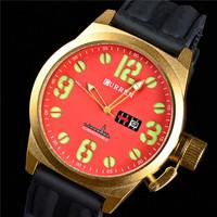 CURREN Brand New Luxury Fashion Men's Sports Watch Waterproof Silicone Watch Quartz Watch Men's Watches, Free Shipping