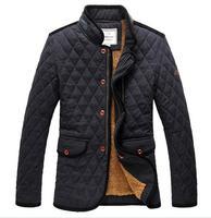 Winter Warm Thick Jackets Coats Slim Man Fleece Inner Outwear Parkas Napka Jaqueta Male Jaquetas 2014 New Jacket COAT-2825115