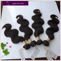 3/4pcs lot 100% bulk human hair for braiding 1b color pop hair malaysian body wave virgin hair weave 100g/piece free shipping