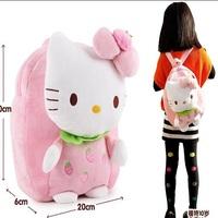 New 2014 cute hello kitty school bags for girls school backpacks